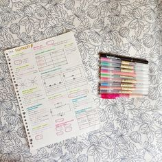 """frhstudies: """" 24.09.15, 8:29PM // summary sheets are a great way to revise… and to try out pretty new pens  """""""
