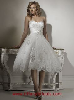 Because, you know, I will totally have a separate dress for the reception. If I did, this is just about what I'd want!