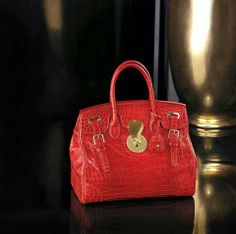 The Ralph Lauren Ricky bag. Celebrate the year of the horse with our  limited edition accessories bd18d8bef7e0c