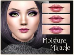 Moisture Miracle Lip Gloss by Pralinesims - Sims 3 Downloads CC Caboodle