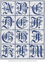 Free Easy Cross, Pattern Maker, PCStitch Charts + Free Historic Old Pattern Books: Rouyer No 248