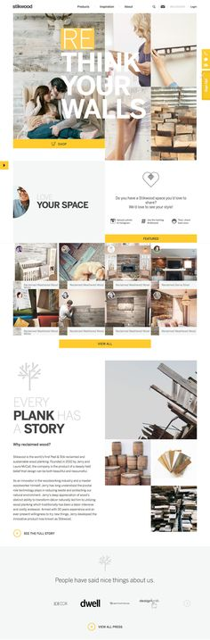 Stikwood (More web design inspiration at topdesigninspiration.com) #design #web #webdesign #inspiration #sitedesign #responsive