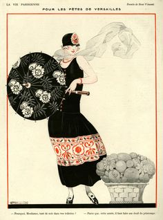 'La Vie Parisienne, 1923' by Advertising Archives on artflakes.com as poster or art print $17.33