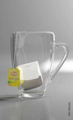 lipton tea by hassan mohamed, via Behance