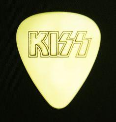 KISS  Brass Guitar Pick by ColemanCustomPicks on Etsy, $15.00