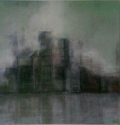 """Detroid"" Acryl auf Leinwand 60x60"