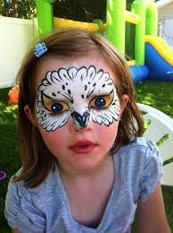 owl face paint - Google Search