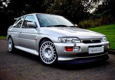 Cosworth at its best 👌 With Escort Mk1, Ford Escort, Ford Rs, Car Ford, Classic Cars British, Rally Car, Jdm, Mustang, Super Cars