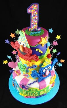 the ultimate 1st birthday cake!