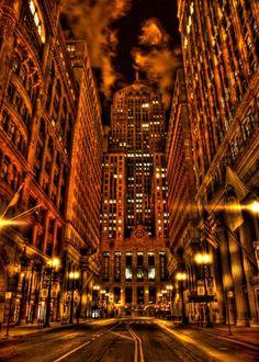Gotham on LaSalle Street, Chicago, Illinois