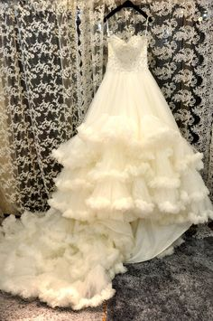 White Cloud Beautiful A Line Court Sweetheart Lace Up Organza Wedding Dresses