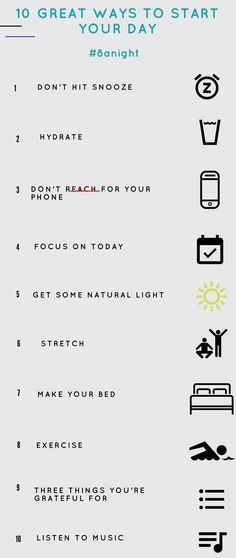 10 great ways to start your day - - Listening to music stimulates the formation of certain brain chemicals and can increase the neurotransmitter dopamine, the brain's motivation muscle. Music can also improve your mood, reduce stress…. Yoga Routine, Night Routine, Yoga Inspiration, Fitness Inspiration, Positive Affirmations, Positive Quotes, Mind Hack, Daily Motivation, Fitness Motivation
