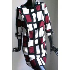 Checkered vintage dress