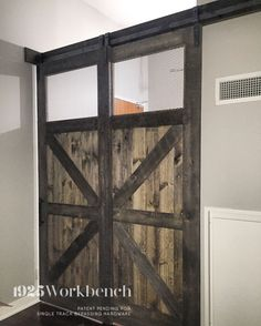 103 best 1925workbench custom doors and barn door hardware images rh pinterest com