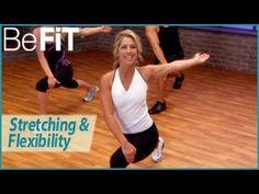 Denise Austin: Stretching & Flexibility Fitness Routine - YouTube