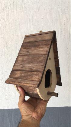Bird House Plans 536772849341355378 - Source by Wooden Bird Feeders, Wooden Bird Houses, Bird House Feeder, Bird Houses Diy, Wooden Art, Wooden Crafts, Bird Tables, Homemade Bird Houses, Bird House Plans