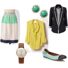 Sister missionary Outfit #6 by krystacute on Polyvore