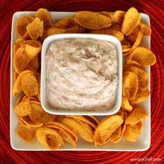 Super Easy Mexican Dip