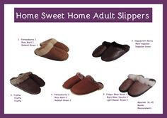 We present you the Handmade Sheepskin adult slippers collection..... Price: size 36-45 95 RON Our company can fabricate slippers in bigger sizes at request, however we must add 10 RON to the price of the products. Please contact us if you want us to convert the price in euro, dollar or any other currency. #slippers #sheepskin #wool #simonfur #trends #stylr #fashion #accessories Fur Fashion, Truffles, Euro, Baby Shoes, Fashion Accessories, Slippers, Trends, Wool, Sweet