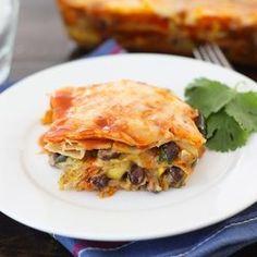 Roasted veggies Enchiladas