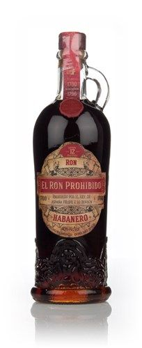 El Ron Prohibido, is a Mexican rum which is made of a blend of rums of different ages, blended with used raisin wine barrels - an intriguing choice that pays off with distinctive bitter-sweet notes Rum Bottle, Liquor Bottles, Drink Bottles, Whiskey Bottle, Vodka, Tequila, Cocktails, Alcoholic Drinks, Beverages