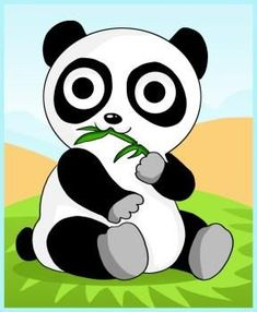 How to Draw a Panda. There are many ways to draw a panda. In this lesson, we will learn step-by-step examples drawing a panda quickly Cartoon Panda, Baby Cartoon, Cute Cartoon, Funny Cartoon Pictures, Cartoon Photo, Cartoon Images, Bear Drawing, Drawing For Kids, Drawing Ideas