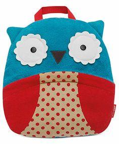 Skip Hop Baby Blanket, Baby Boys or Baby Girls Owl Zoo Travel Blanket