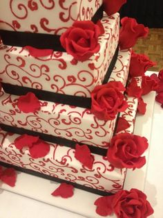 Laura's wedding cake