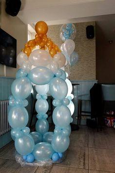 Tetero con globos linking!!!