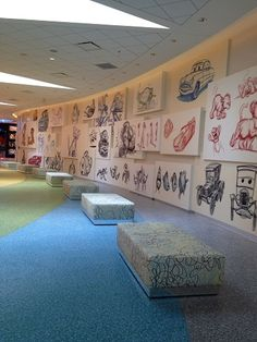 More Sketches on the Wall of Animation Hall