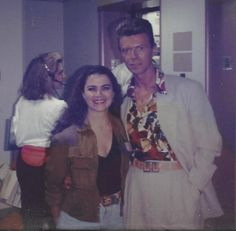 """""""Fame"""" was one of my favorite songs by David Bowie. I got to meet him 30 years ago on the set of """"Twin Peaks"""" in Seattle. He was a nice guy. We will miss you David!"""