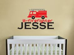 firefighter decal! Because one day my hubby will become one and hopefully have a baby boy :)