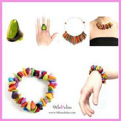 #ad 100% sustainable & organic handmade jewelry   9thandelm.com  #sustainable #organic #muichic #handmade #9thandelm