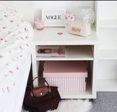 Perfect, girly room :)