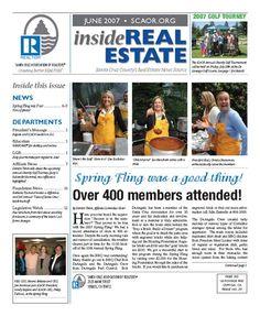June 2007 SCAOR Newsletter Cover Design http://dixongraphics.com/portfolio_newsl.htm