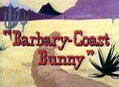 Barbary-Coast Bunny The Cartoon Pictures