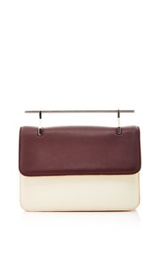 La Fleur De Mal Shoulder Bag In Calf Leather by M2Malletier for Preorder on Moda Operandi