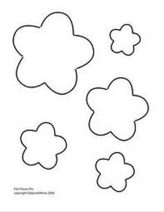Atelier - Boutique D' Caroline: Dicas e moldes Felt Flowers Patterns, Felt Patterns, Applique Patterns, Fabric Flowers, Paper Flowers, Felt Diy, Felt Crafts, Diy And Crafts, Paper Crafts