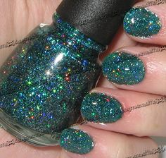 China Glaze 'Atlantis'