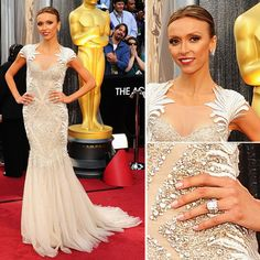 Giuliana may not be an actress-- but she's definitely wearing the best dress of the night. Love it
