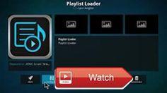 Como Instalar o Playlist Loader no Kodi v17 1 lista IPTV mu 17  link 1 download here link download here Best IPTV MU