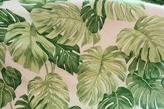 thibaut green leaf pattern
