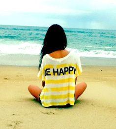 Be Happy enjoy the #beach <3