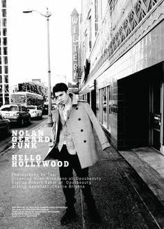 Nolan Gerard Funk by Yu Tsai Nolan Gerard Funk, Carbon Copy, Editorial Fashion, Supermodels, Top Models