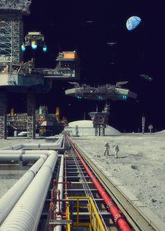 Futuristic World of Evgeny Kazantsev