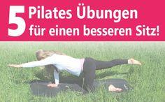 Mit diesen Pilates Übungen für Reiter kannst Du Deinen Sitz mit wenig Aufwand von zu Hause aus verbessern. Einfach erklärt und leicht nachzumachen!