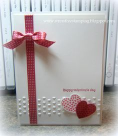 Stampin' Up! Valentine by Shana Gaff at Stress-Free Stamping: CAS Hearts