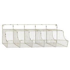 Woodland Imports Metal Storage Shelf