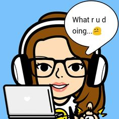 Me playing on the laptop