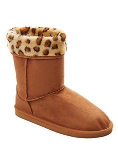 Faux Leopard Fur Cuff Solemate   rue21